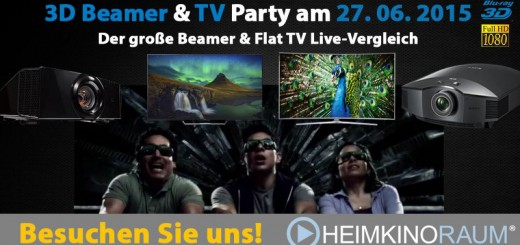 3D-Beamer-Party